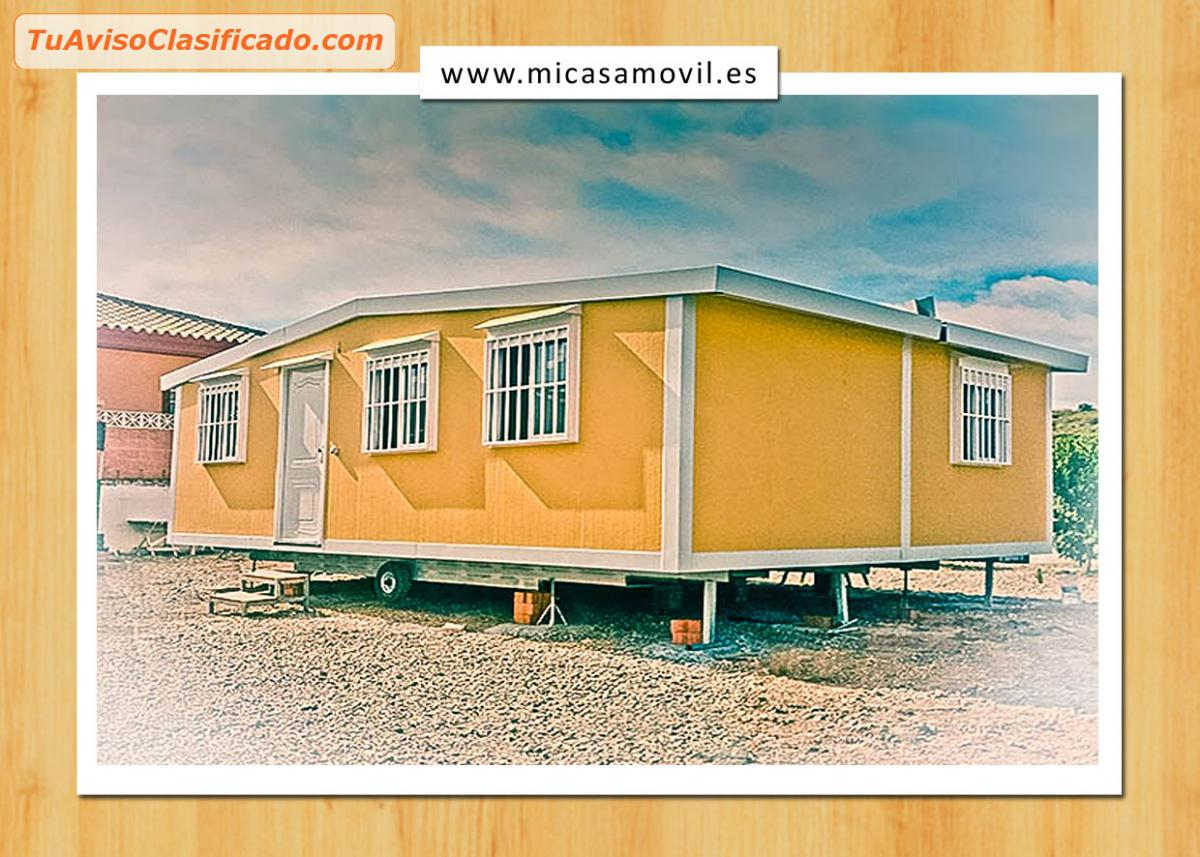 Casas prefabricadas m viles mi casa movil inmuebles y propiedade - Casas moviles segunda mano ...