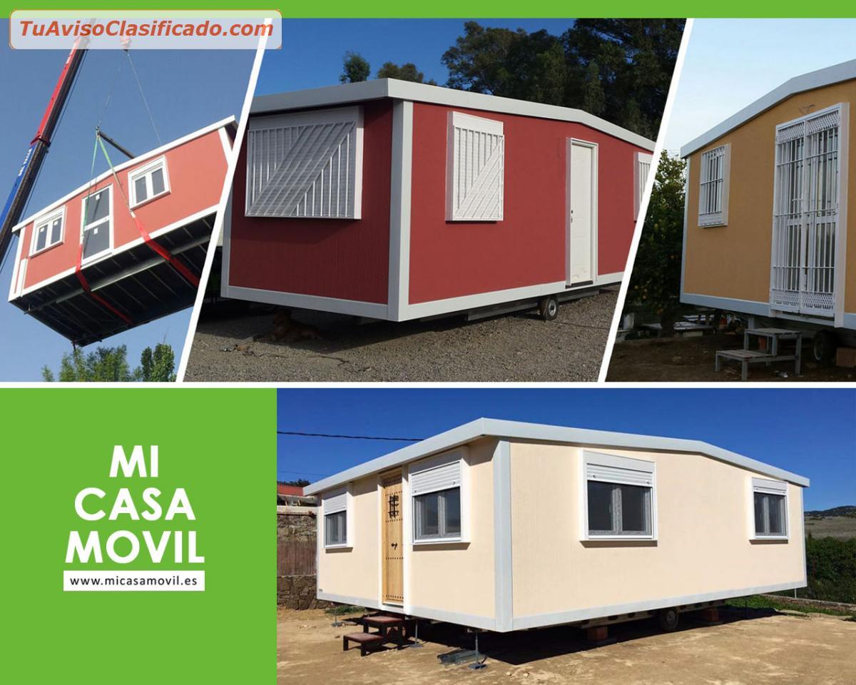 Casas prefabricadas m viles mi casa movil inmuebles y - Casas modulares moviles ...