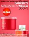 Mascarilla  Wella en promoción