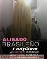 Cabello liso con keratina brasileña