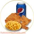Pollo frito, a la parilla y pollo asado a domicilio.