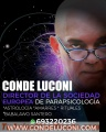 Profecional de la Parapsicología Conde luconi