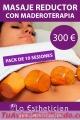 ¿Necesitas un masaje reductor?
