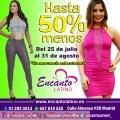 Rebajas hasta del 50 % en Encanto Latino