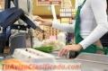Se buscan cajeros/as-reponedores/as para conocida cadena de supermercados