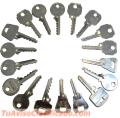 Ganzúas y herramientas de cerrajería de todo tipo