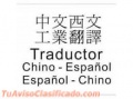 Intérprete traductor chino español en china